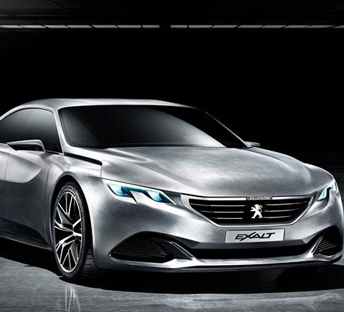نگاهی به مدل مفهومی خودروی زیبای پژو اگزالت -