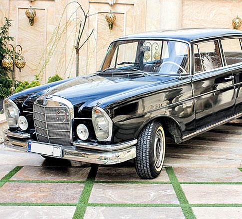 مرسدس کلاسیک W111 کوپه -