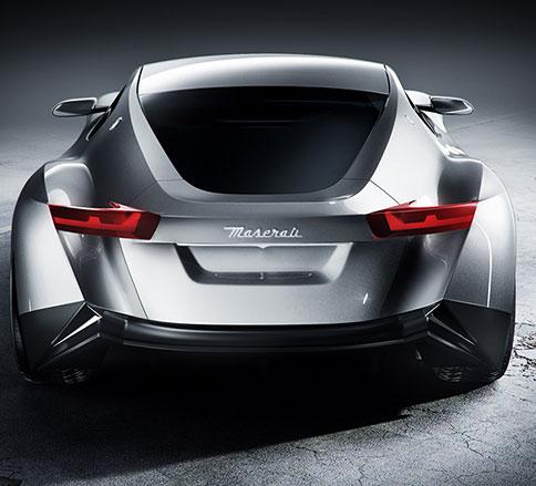 برنامه رندر مازراتی ZS3 با توجه به خودروی مفهومی آلفیری -