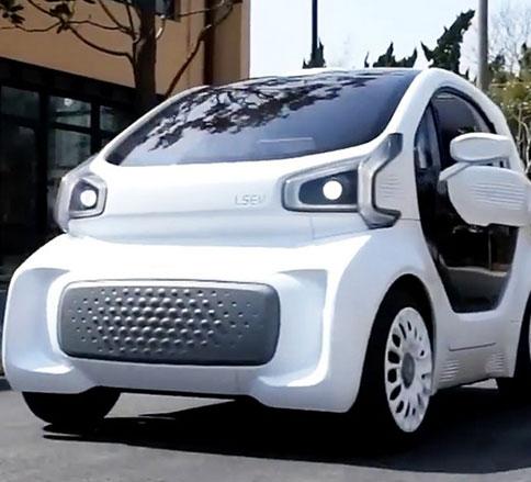 اولین خودروی الکتریکی با چاپ سه بعدی تولید شد -
