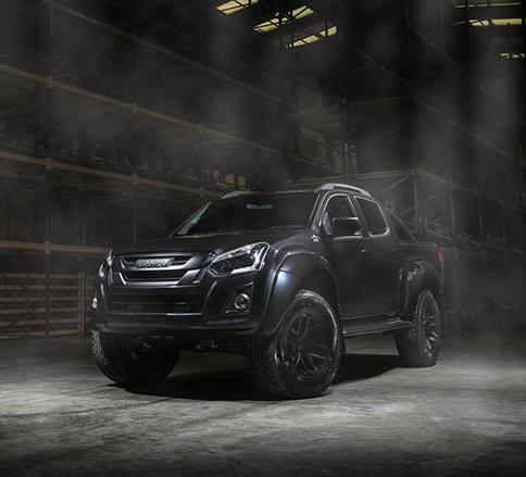 خودروی سیاه پوش؛ نگاهی به جزئیات ایسوزو D-Max Stealth -