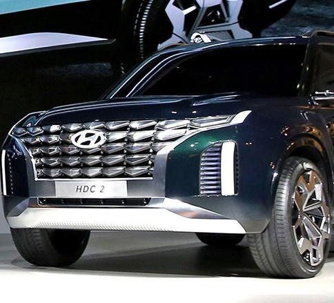شاسی بلند جدید هیوندای HDC-2 رونمایی شد! -