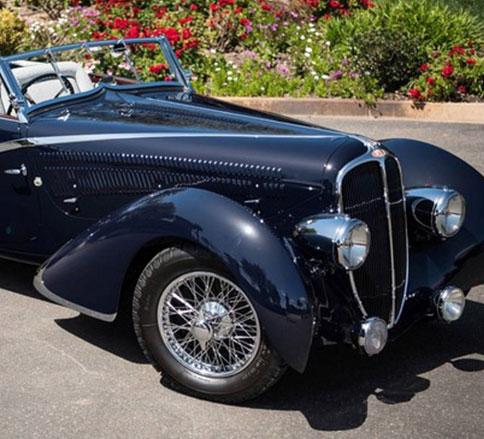 دلاهه ۱۳۵، یکی از جدابترین خودروهای کلاسیک جهان -
