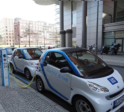 خودروی برقی برای نجات محیط زیست -
